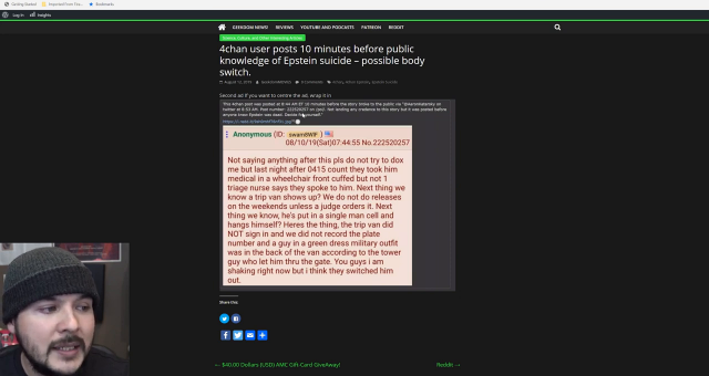 Someone Leaked Epstein Info To 4chan, Conspiracy Theories Run Rampant.mp4